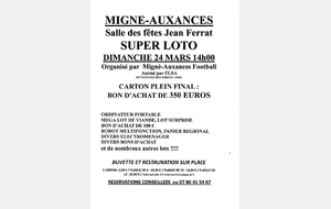 SUPER LOTO DE L USMA FOOTBALL