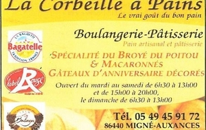 La corbeille à pains