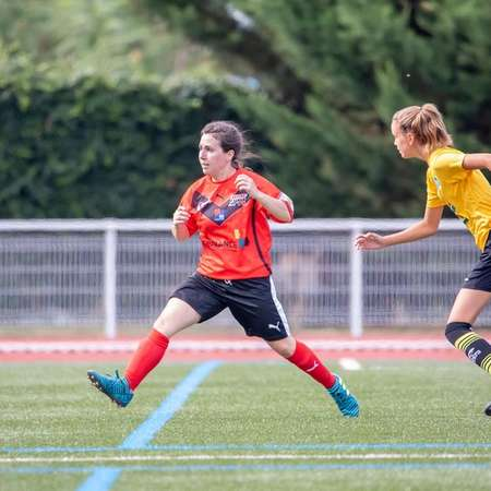 MIGNE-AUXANCES 1-0 THOUARS FOOT79 1ER TOUR DE COUPE DE FRANCE FEMININE.